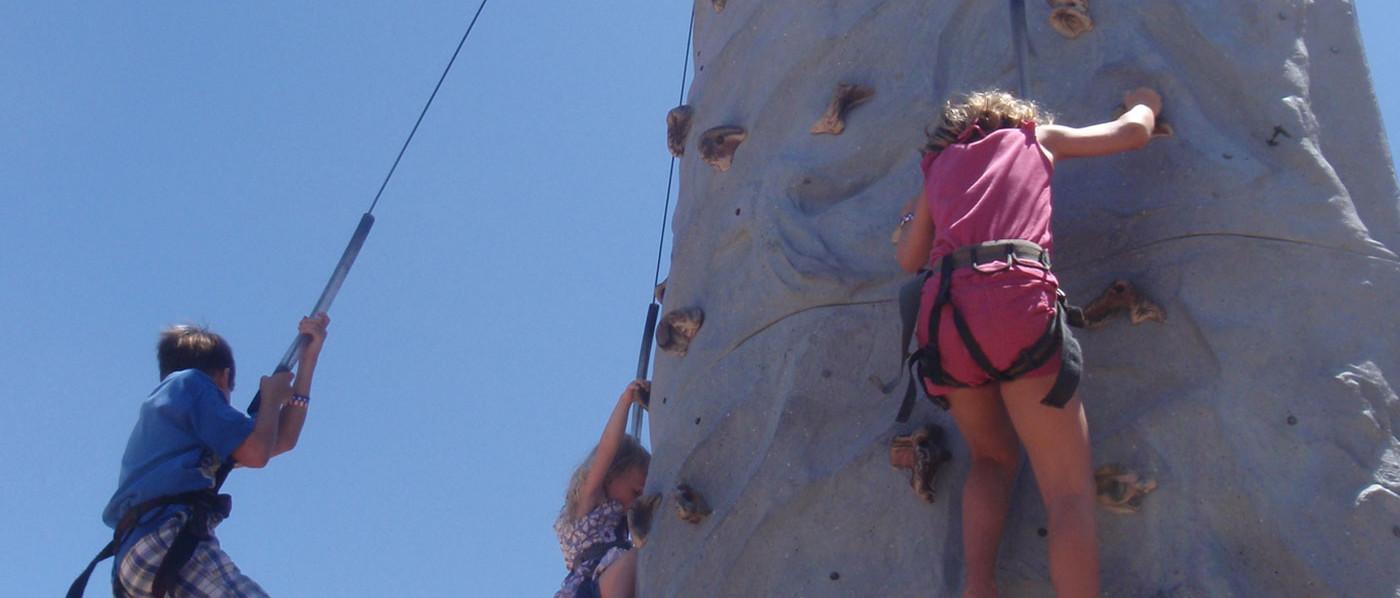 Rent a climbing wall
