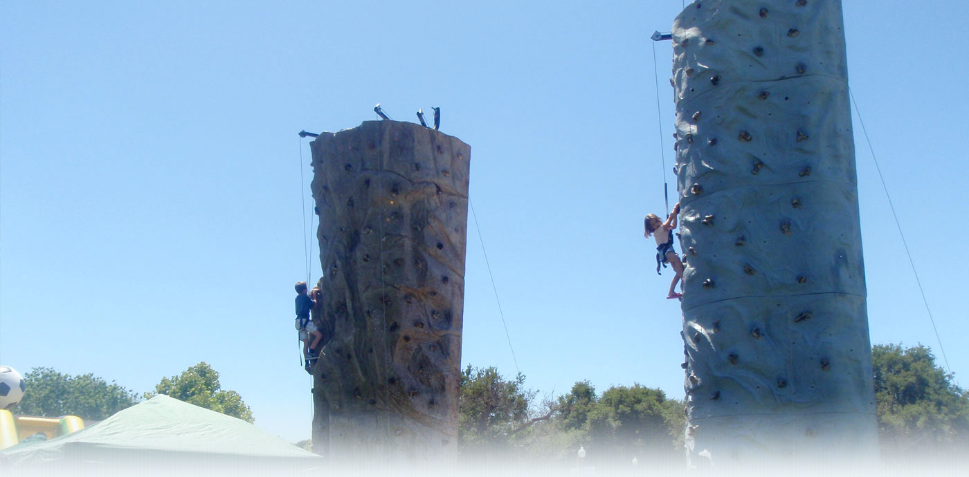 Climbing Wall Rentals 4th of July
